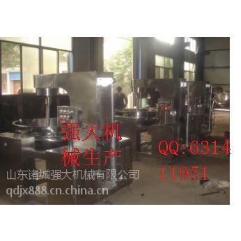 供应厨具加工设备 可倾式高粘度炒锅夹层锅-强大机械生产厂