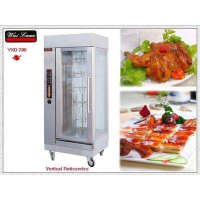 供应唯利安 YXD-206 恒温 立式旋转电烤炉 烤鸡炉 烤牛肉干机 烤兔机