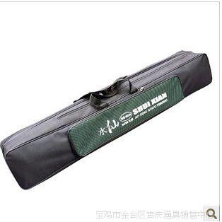 吉庆渔具水仙鱼竿包90公分双层渔具包钓鱼用品包工具包80公分双层