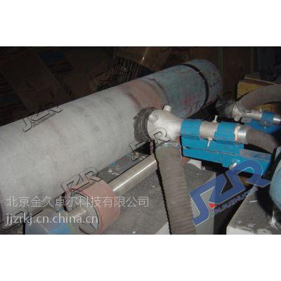 管道内壁喷砂机河北金久卓尔清理线JZR-GD型管道内壁喷砂机