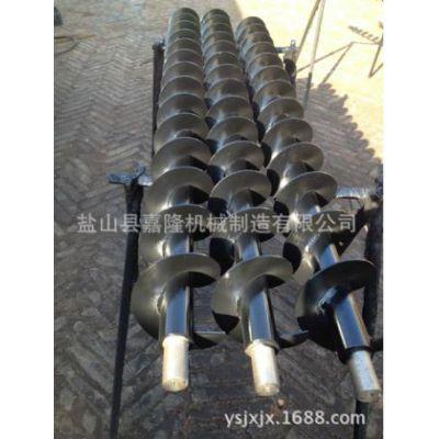 嘉隆厂家直供带联轴器螺旋叶片 150-60-140农林机械专用螺旋杆