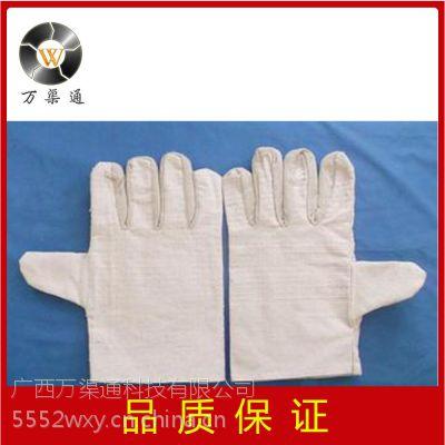 广西批发白色帆布手套 劳保手套 电焊手套防护手套劳保用品
