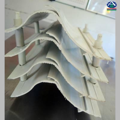 焦化厂动力车间脱硫装置聚丙稀PP除雾器价格 华强生产