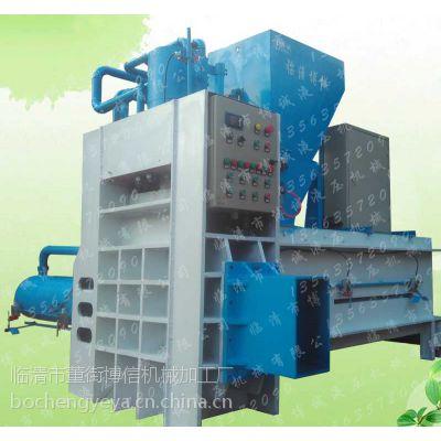 临清博诚液压供应东北高效全自动玉米芯压块机、稻壳、玉米秸秆、锯末打包机