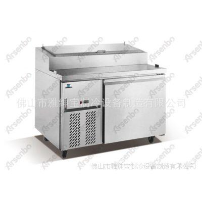 两门披萨保鲜柜 冷柜厂家/哈拿批萨柜/伦巴批萨冷柜