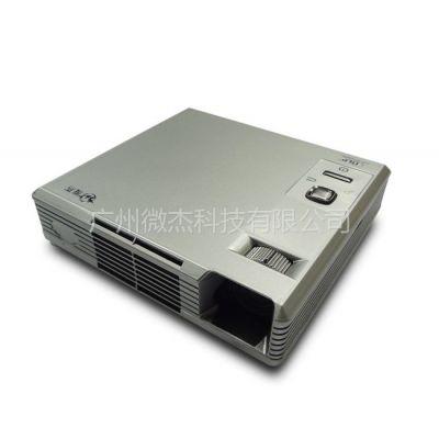 供应供应首款500流明3D微型投影机 微杰DL-305 LED投影仪高清家用影院