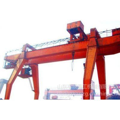 供应供应单梁桥式起重机--手动单梁桥式起重机各机构的工作速度较低