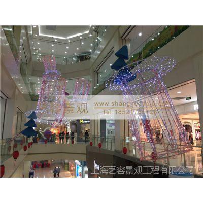 专业批发 商场景观布置 商场大型场景布置 商场中庭装饰 商业美陈