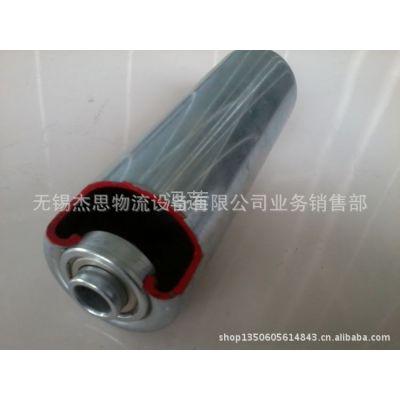 供应无锡杰思厂家定制输送机镀锌碳钢滚筒剖析图,多种表面处理