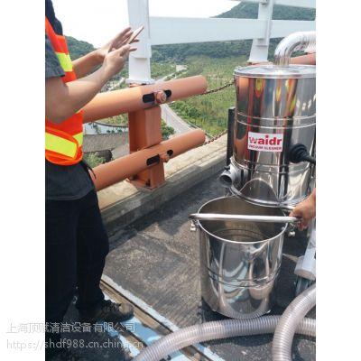 威德尔汽油机工业吸尘器高速抢修地面清理用吸尘设备吸小石子灌缝渣