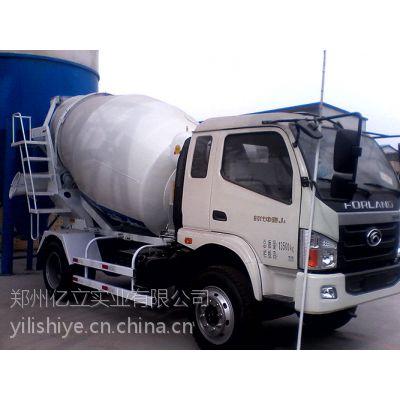 厂价直销混凝土搅拌运输车 亿立4m3搅拌运输车价格图片 亿立实业 质量保证