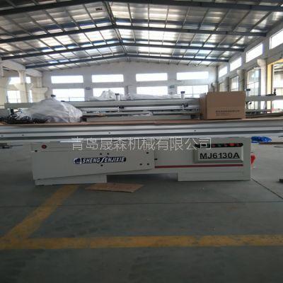 出口定制款 MJ6130A 木工推台锯 SOSN 青岛晟森