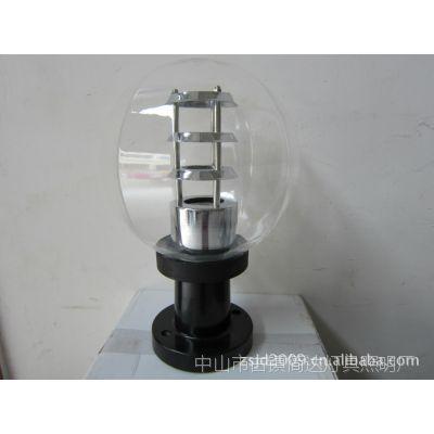 供应直径瓜皮形透明反光亚克力灯饰配件