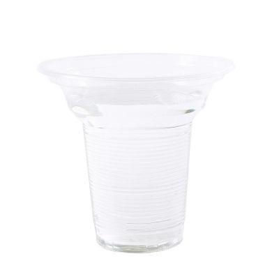 供应220毫升一次性透明塑料杯敞口杯豆浆杯果汁杯食品级PP材质1000个