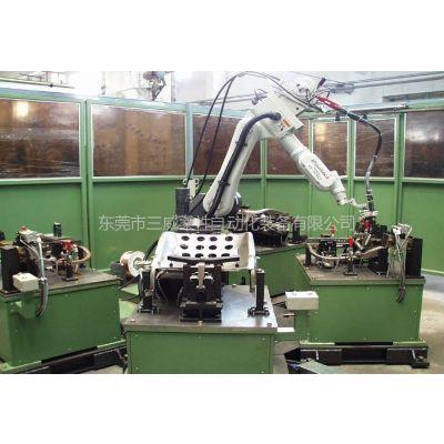 供应多工位汽车座椅焊接工装-机器人焊接工装