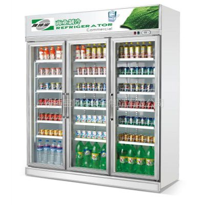 供应饮料保鲜展示柜/豪华型/风冷/微电脑控温/型号SG16L3FA