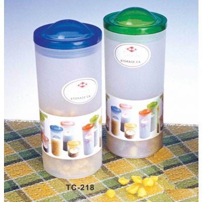 达盛TC-218 10*10*23.8 密封罐/塑料密封罐/提手密封罐/糖果罐