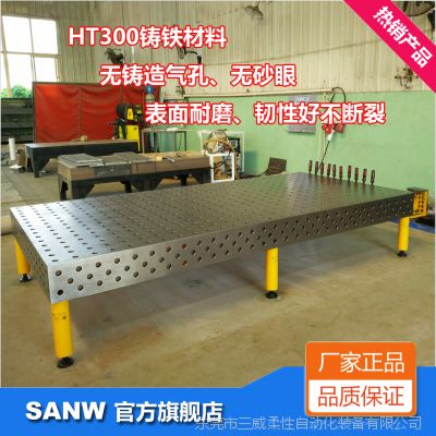 4X2、3X1.5、2.4X1.2、2X1三维柔性铸铁焊接平台/厂家价格质量好-东莞三威