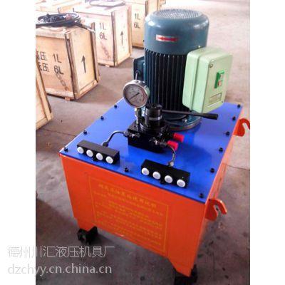 河南电动泵站,川汇液压机具厂(图),小型电动泵站