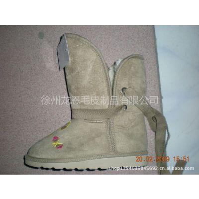 供应2013年 翻毛雪地靴 女式 保暖靴 韩版靴子 低筒靴 真皮雪地靴