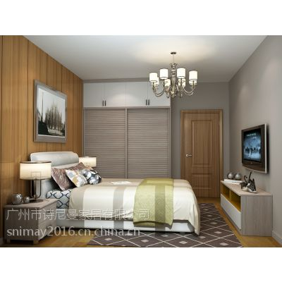 诗尼曼jy-401白枫色简约风格主卧定制衣柜怎么样?选着整体衣柜定制效果好吗?
