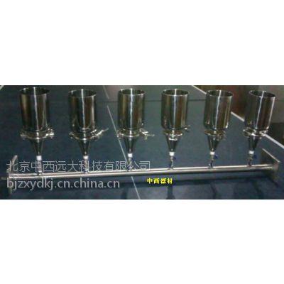 中西实验室过滤器/薄膜过滤器 (不锈钢型,带泵和瓶) 型号:MT01-6库号:M365604