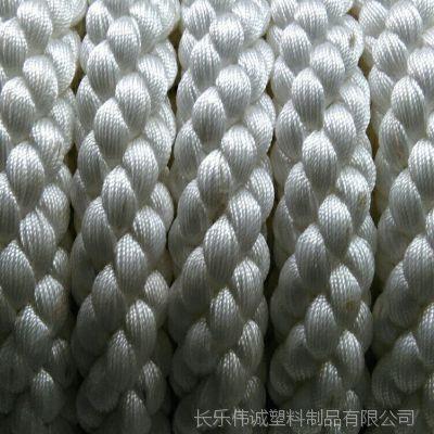 船用缆绳  四股绳 锦纶 尼龙 丙纶 涤纶 牛筋 高分子 芳纶 聚乙烯