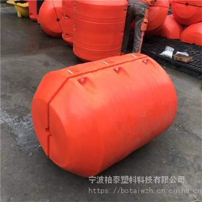 营口聚乙烯空心浮球 海边警示浮筒 福州水位警示浮体