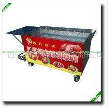 供应北京摇滚烤兔车 旋转烤兔车 电瓶式烤兔机 木炭兔子烤炉