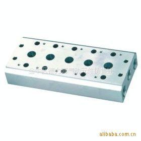 供应电磁阀底座用于安装板块