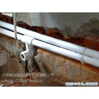 玉泉路水管维修