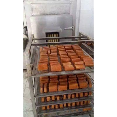 销售四川豆腐干烘干炉 熏豆干设备 烟熏炉报价15963638486
