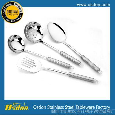 厂家直销 厨具四件套 烹饪勺铲套装 不锈钢厨房用具