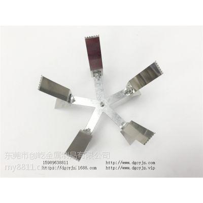 喷漆塑料夹具 电镀加工 弹片钢片异形弧形 喷塑塑料漆静电