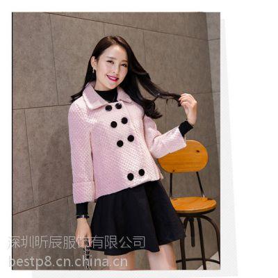 冬季棉服批发时尚女装棉服批发广州棉服批发市场冬装棉服批发市场
