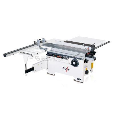厂家直销批发 青岛晟森 精密裁板锯 MJ6116TD 手推锯 木工台锯 亚克力锯板机 推台锯