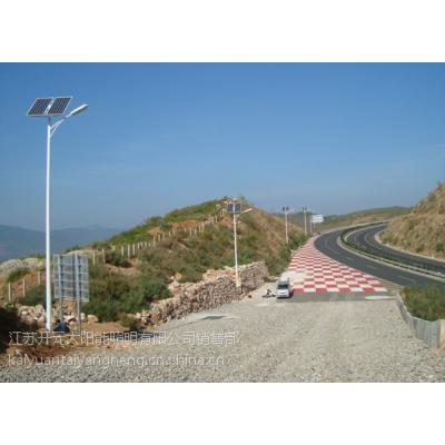 供应赣州太阳能路灯乡镇道路照明灯 城市道路照明