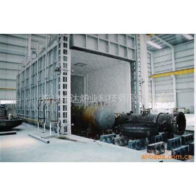 供应设计制造大型燃气台车式热处理炉