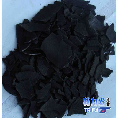 特力发品牌 供应印尼椰壳炭化料 环保大片料活性炭