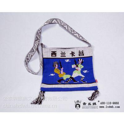 其他布类包装袋 定做外贸土家织锦缎 拉绳袋 绸缎束口袋