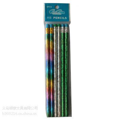 圆杆铅笔定制 环保铅笔 超级防断 不含铅毒 热转印铅笔 HB