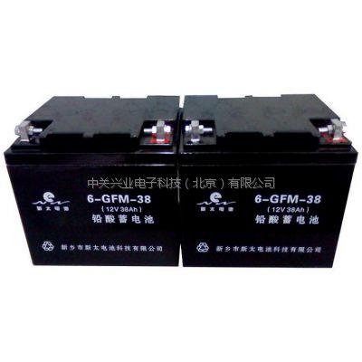 新太蓄电池6-GFM-55现货价格12V55AH蓄电池