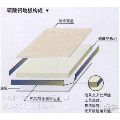 榆林硫酸钙防静电地板全钢架空地板厂家生产