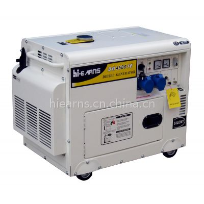 3.3KW 单相风冷发电机组DG4500SE 带电流表