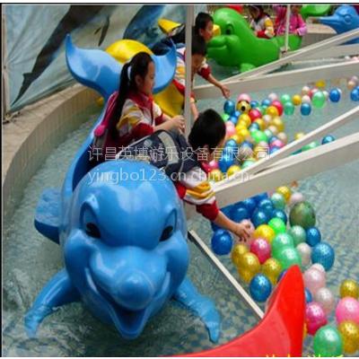 河南海豹戏水多少钱 儿童设备海豹戏水 旋转升降可以捞球趣味性高