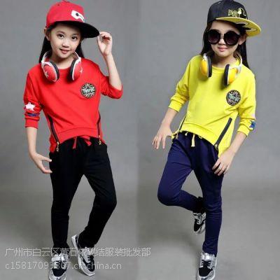 时尚韩版童装批发秋冬加厚加绒童装卫衣批发质量保证
