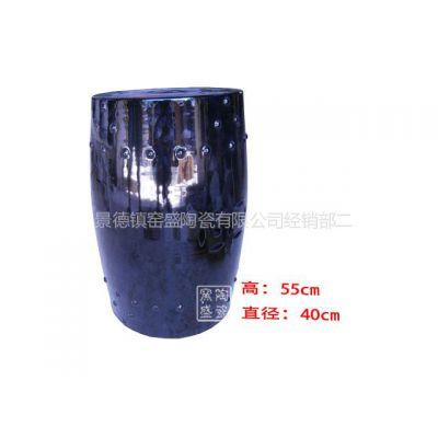 供应供应手工陶瓷凉墩 颜色釉凳子 陶瓷凳子批发