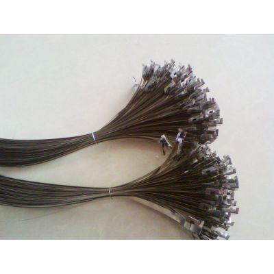 供应电力标牌专用不锈钢扎带 喉箍 抱箍生产商