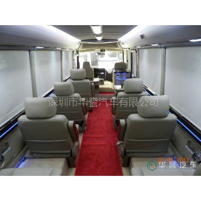 华誉中巴商务车改装房车,商务房车改装