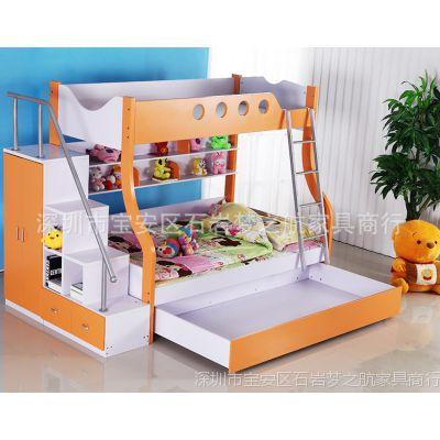 板式家具 木质儿童上下床高低子母床 双层儿童床 儿童木床批发